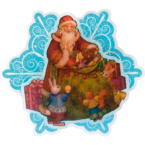 Феникс-Презент Новогоднее украшение Fenix-present Мешок с подарками, с подсветкой феникс презент новогоднее украшение fenix present мешок с подарками с подсветкой