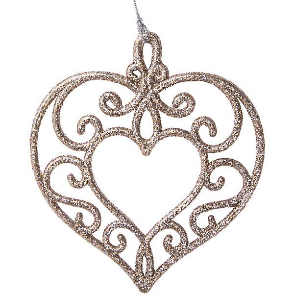 Феникс-Презент Украшение Fenix-present Золотое сердце