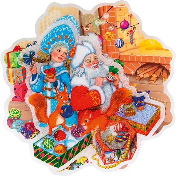 Феникс-Презент Новогоднее украшение Fenix-present Внучка деда Мороза, с подсветкой