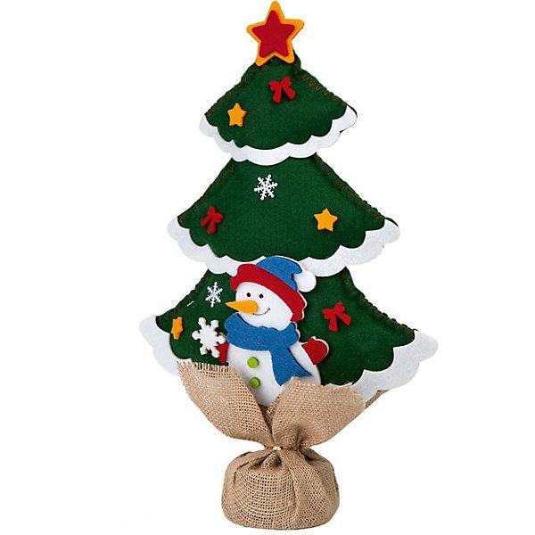 Феникс-Презент Новогоднее украшение Fenix-present Елка зеленая в мешочке