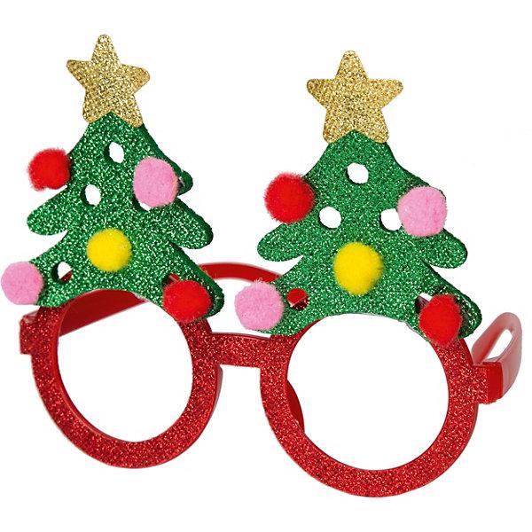 Фото - Феникс-Презент Маскарадные очки Fenix-present Елки 3d очки