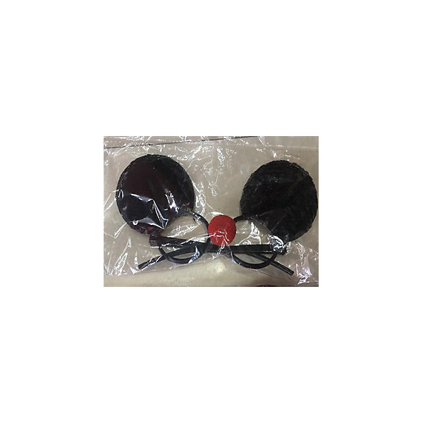 Феникс-Презент Карнавальные очки Fenix-present Черные пайетки