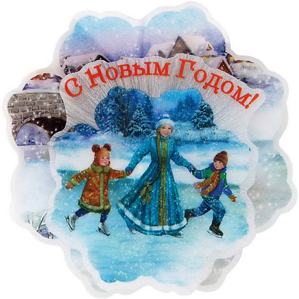 Феникс-Презент Новогоднее украшение Fenix-present Зимние забавы, с подсветкой цена