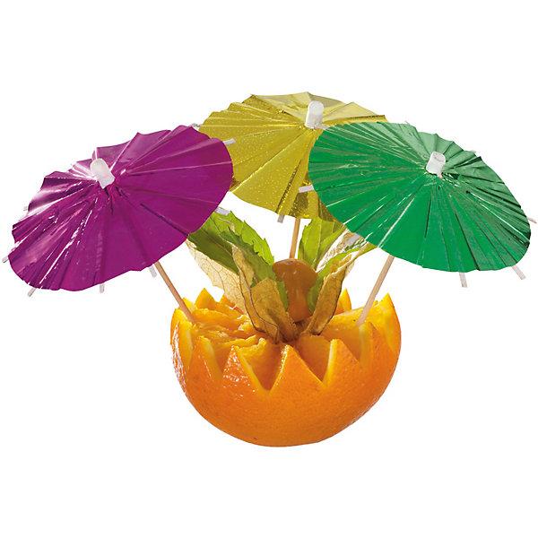 Susy Card Палочки для коктейля «Зонтик-металлик»