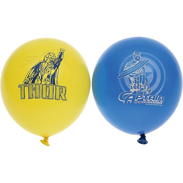 """Belbal Воздушные шары Belbal """"Марвел: мстители"""", с рисунком, 50 шт"""