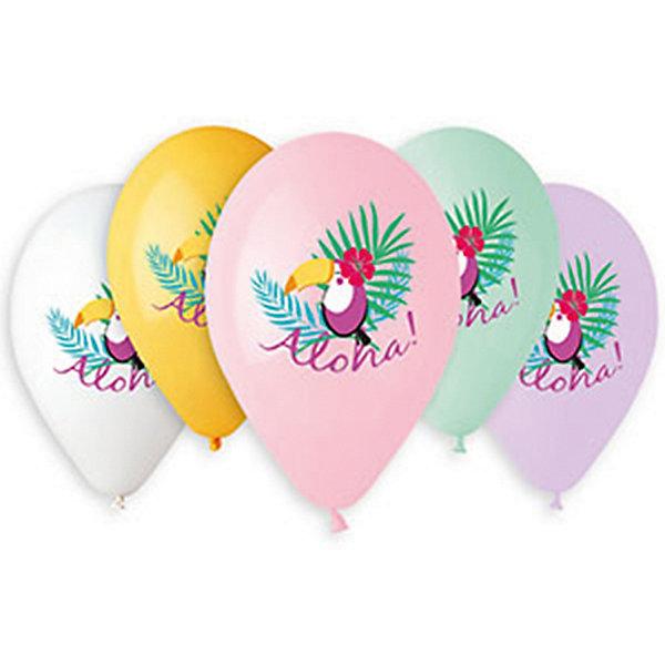 Belbal Воздушные шары Тукан alona, с рисунком, 50 шт