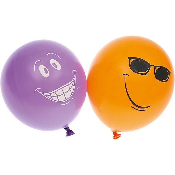 """Belbal Воздушные шары Belbal """"Улыбка"""", с рисунком, 50 шт"""