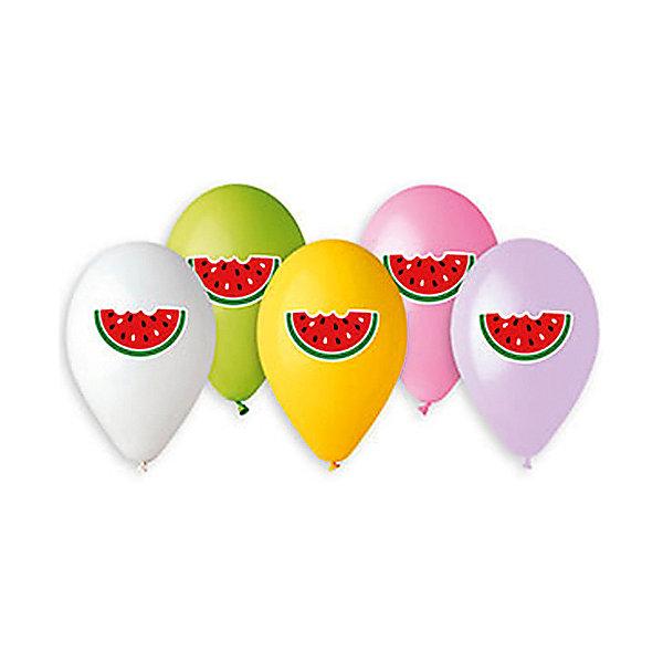 Belbal Воздушные шары Арбуз, с рисунком, 50 шт
