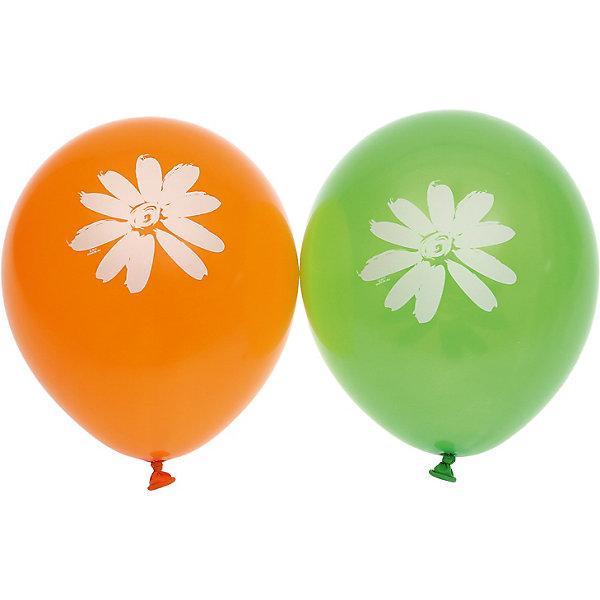 """Belbal Воздушные шары Belbal """"Ромашки"""", с рисунком, 50 шт"""