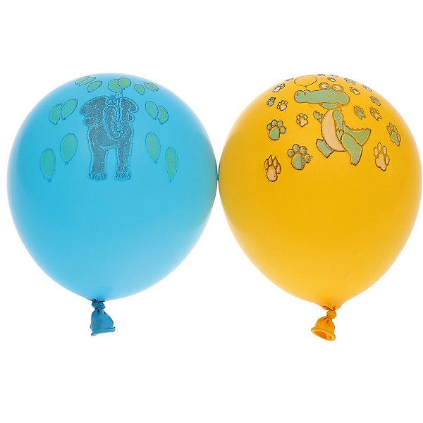 Gemar Воздушные шары Ассорти, с рисунком, 100 шт