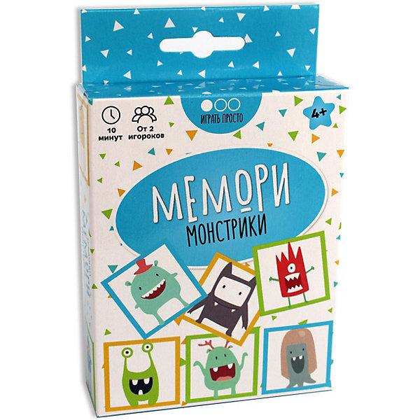 Muravey Games Настольная игра Мемори: монстрики