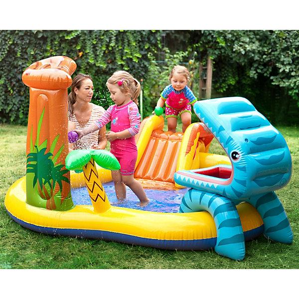 Надувной игровой центр-бассейн Intex
