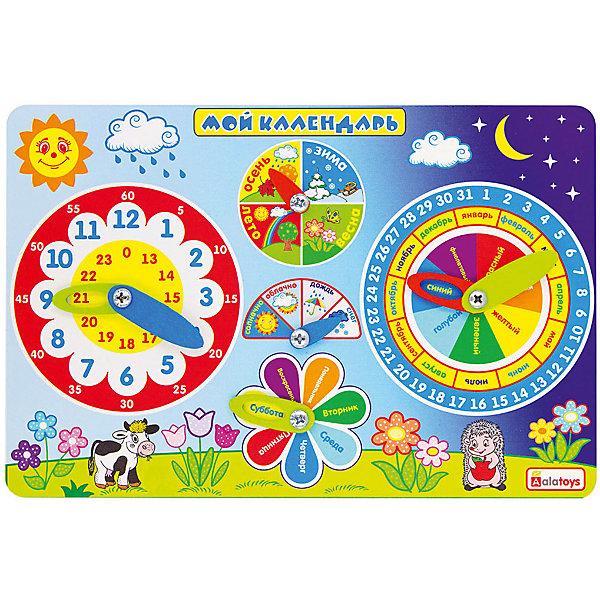 Alatoys Бизиборд Мой календарь