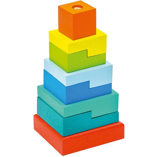 Alatoys Пирамидка Ступеньки