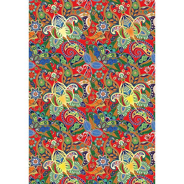 АппликА Цветной поделочный картон Апплика Арабеска 4 листа А4, с тиснением