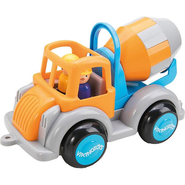 "Viking Toys Игровой набор Viking Toys ""Цементовоз JUMBO - новые цвета"", 3 шт"