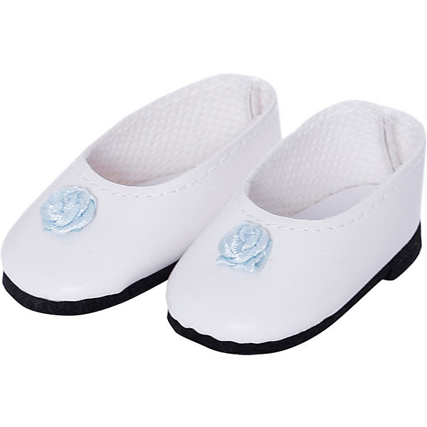 Paola Reina Обувь для кукол туфли с голубым цветком, 32 см