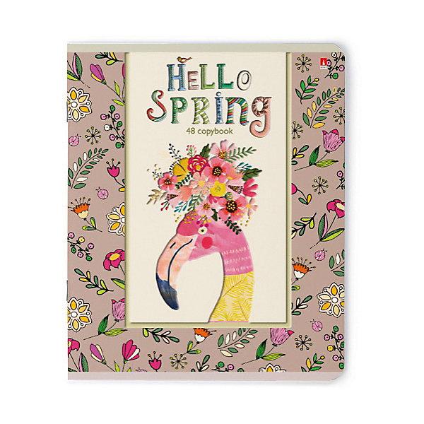 цена Альт Тетрадь Альт Hello Spring, 48 листов, клетка, 5 шт онлайн в 2017 году
