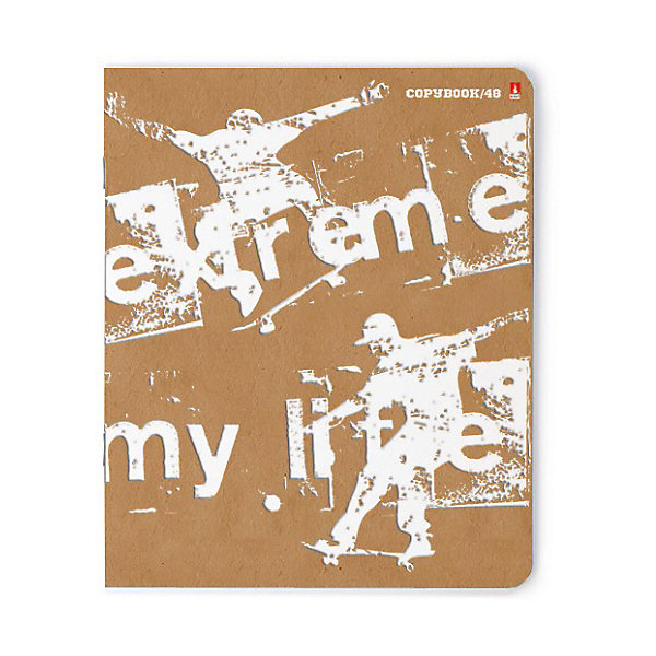 Альт Тетрадь Экстрим-моя жизнь, 48 листов, клетка, 5 шт