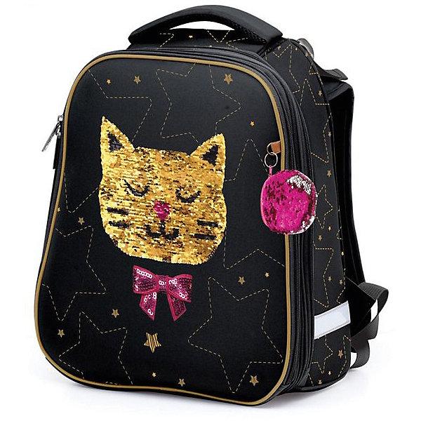 Купить Рюкзак Hatber Ergonomic, Gold cat, Китай, Женский