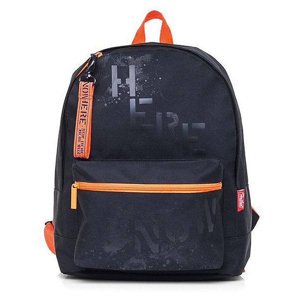 Рюкзак Hatber Casual, NowРюкзаки<br>Характеристики:<br><br>? материал: полиэстер<br>? без наполнения<br>? размер рюкзака: 37*29*15 см<br><br>Рюкзак имеет 1 основное просторное отделение и большой карман спереди на молнии. Он подходит для использования каждый день благодаря своей легкости и функциональности. Дополнительный штрих придают аксессуары: сетка, ленты с жаккардовым плетением, подвески, люверсы и прочие детали.