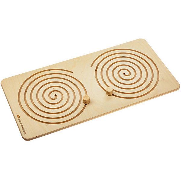 Wood Machine Межполушарная доска Games Круглая спираль