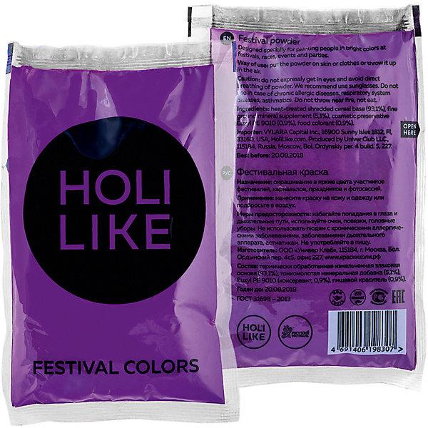Holi Like Краска холи Holi Like, фиолетовая сахарное мыло холи ленд