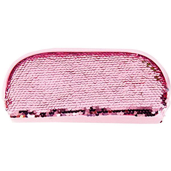Mihi-Mihi Пенал Mihi-Mihi, с блестками, розовый