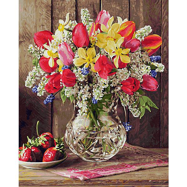 Набор для раскрашивания по номерам Schipper Цветы из домашнего сада , Германия, Унисекс  - купить со скидкой