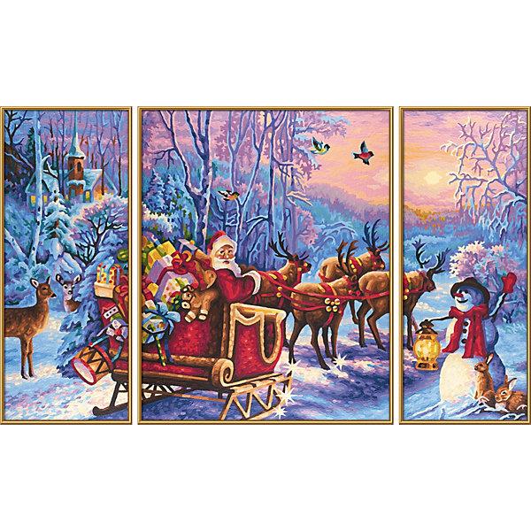 Schipper Набор для раскрашивания по номерам Schipper Дед Мороз цена