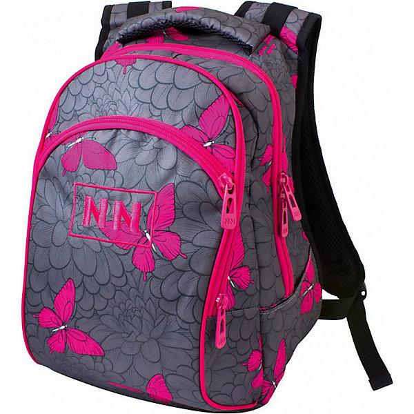 Купить Рюкзак Winner 205, серо-розовый, Китай, rosa/grau, Женский