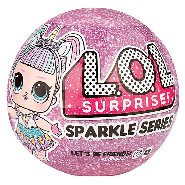 MGA Кукла-сюрприз Entertainment в шаре LOL Surprise Sparkle Series, 559658