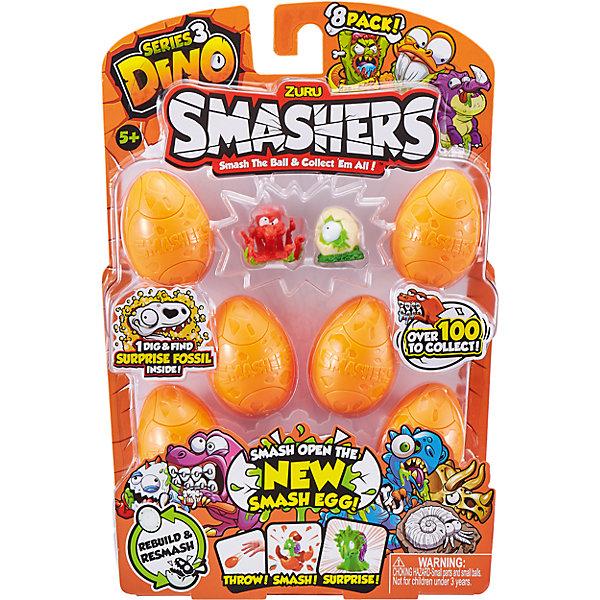 ZURU Игровой набор Zuru Smashers Дино-сюрприз в яйце, 8 шт