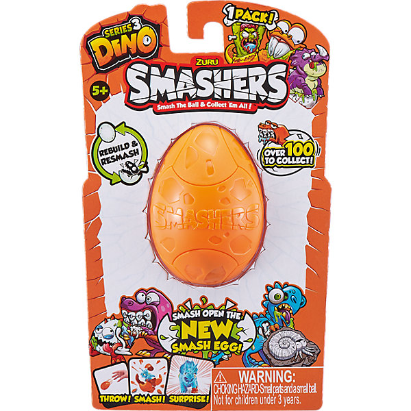 ZURU Игровой набор Zuru Smashers Дино-сюрприз в яйце