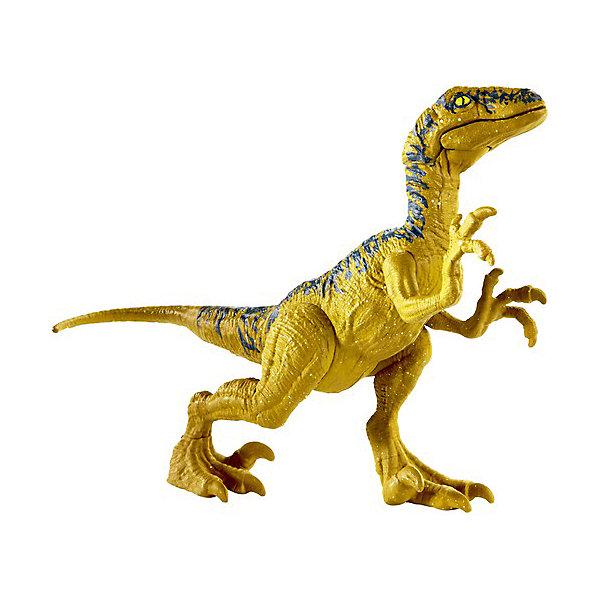 Купить Игровая фигурка Jurassic World Атакующая стая , Велоцираптор Дельта, Mattel, Китай, Мужской