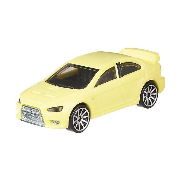 "Машинка Hot Wheels ""Color Shifters"" меняющая цвет Mitsubishi Lancer Evolution Mattel 12019451"
