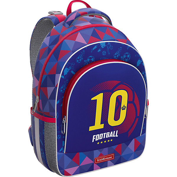 Erich Krause Ученический рюкзак Erich Krause ErgoLine 15L Football Team цена