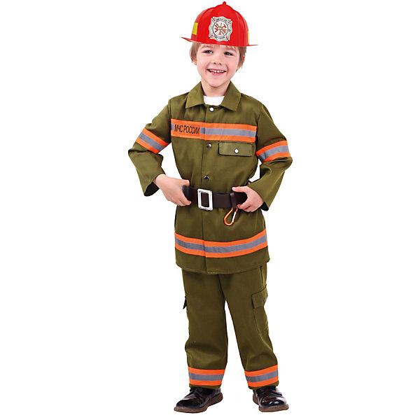 Пуговка Карнавальный костюм Батик, Пожарный