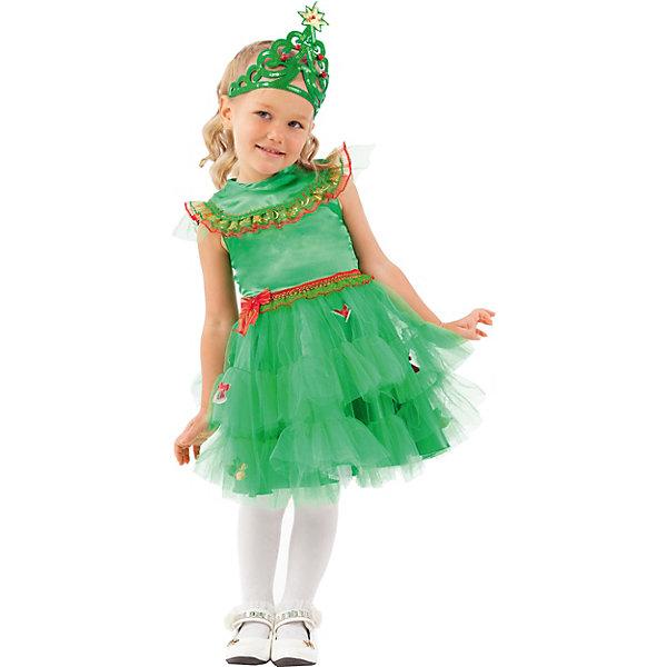 Пуговка Карнавальный костюм Батик, Елочка зеленая