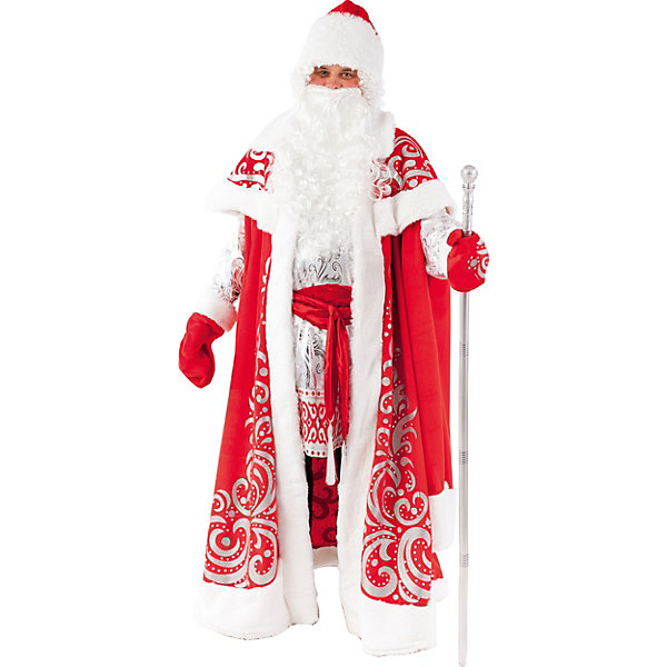 Пуговка Карнавальный костюм Батик, Дед Мороз Царский
