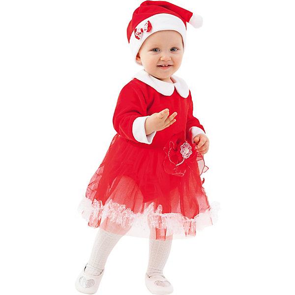 Пуговка Карнавальный костюм Батик, Мисс Санта