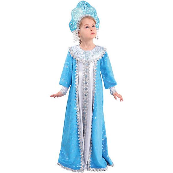 Пуговка Карнавальный костюм Батик, Снегурочка Сударушка