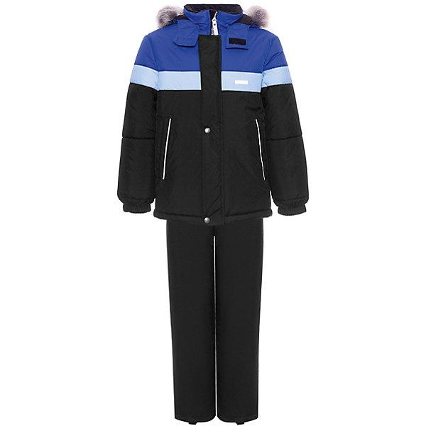 Комплект Kerry Ron: куртка и полукомбинезон, Финляндия, разноцветный, 122, 110, 128, 98, 104, 116, 134, 92, Мужской  - купить со скидкой