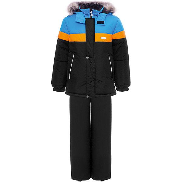 Купить Комплект Kerry Ron: куртка и полукомбинезон, Финляндия, разноцветный, 134, 116, 128, 104, 92, 98, 122, 110, Мужской