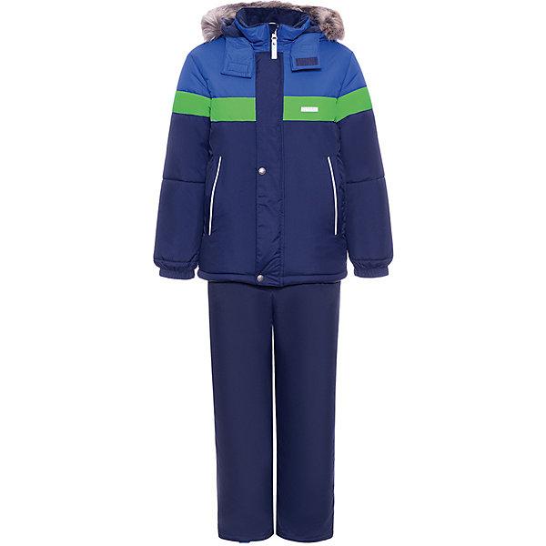 Купить Комплект Kerry Ron: куртка и полукомбинезон, Финляндия, разноцветный, 104, 92, 98, 116, 110, 134, 122, 128, Мужской