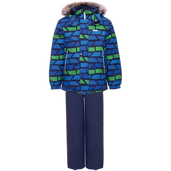 Купить Комплект Kerry Robis: куртка и полукомбинезон, Финляндия, разноцветный, 116, 98, 128, 110, 122, 92, 134, 104, Мужской