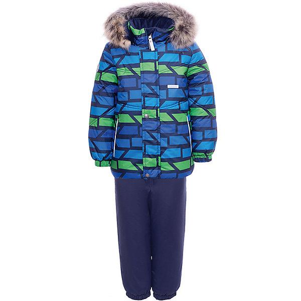Купить Комплект Kerry Franky: куртка и полукомбинезон, Финляндия, разноцветный, 104, 86, 92, 98, 80, Мужской