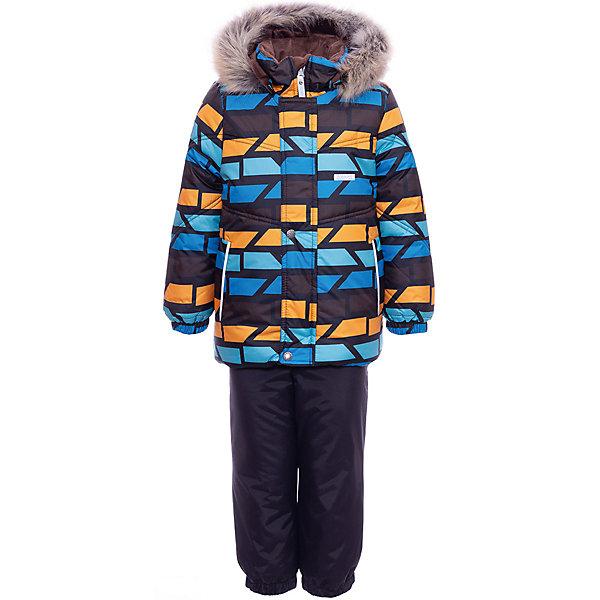 Купить Комплект Kerry Franky: куртка и полукомбинезон, Финляндия, разноцветный, 98, 104, 92, 80, 86, Мужской