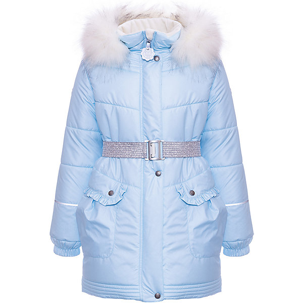 Купить Утепленная куртка Kerry Milla, Финляндия, голубой, 140, 92, 104, 98, 128, 110, 116, 122, 134, Женский