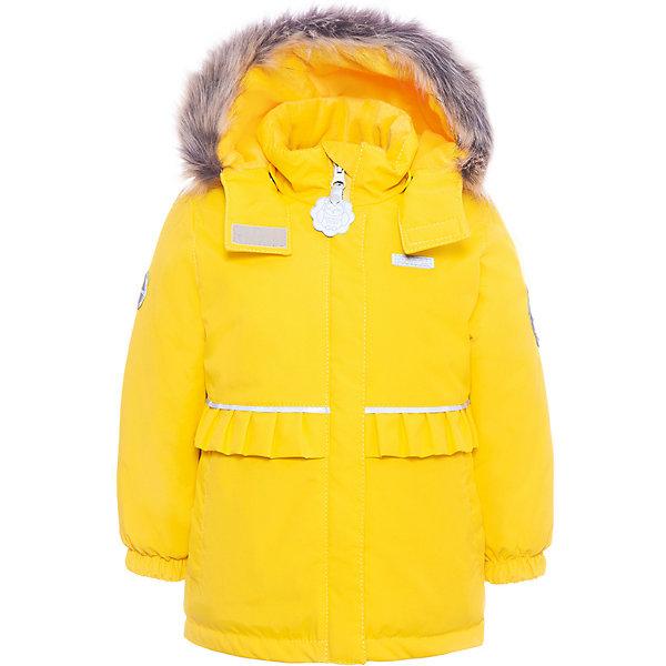 Купить Утепленная куртка Kerry Odele, Финляндия, желтый, 80, 86, 98, 92, Женский